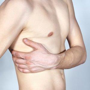 Болят нижние ребра при надавливании справа