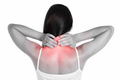 Боль в области шеи сзади